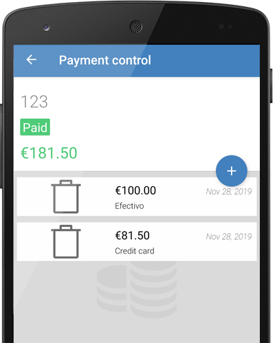 Enter your invoices received in the Mobile Billing App