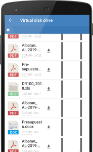 Mobile app for CRM customer and contact management